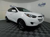 Recent Arrival! 2015 Hyundai Tucson Winter White Solid