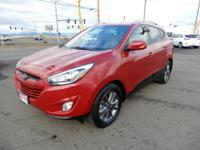 You are looking at a 2014 Hyundai Tucson.  This is a