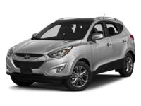 **CERTIFIED READY** 2015 Hyundai Tucson Limited With