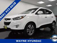 This Hyundai Tucson has a dependable Regular Unleaded