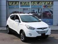 White 2015 Hyundai Tucson Limited AWD 6-Speed Automatic