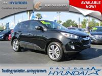 **ONE OWNER CLEAN CARFAX **. Tucson Limited AWD, Alloy