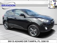 This 2015 Hyundai Tucson Limited is proudly offered by