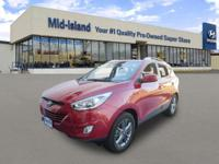 This 2015 Hyundai Tucson Limited is Well Equipped with