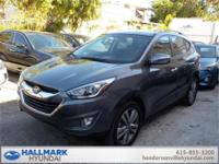 The 2015 Hyundai Tucson compact crossover SUV gives