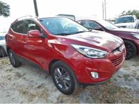 This outstanding example of a 2015 Hyundai Tucson SE is