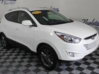 2015 Hyundai Tucson White Clean CARFAX.28/21