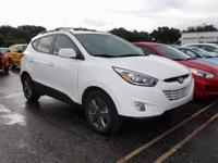 Clean CARFAX. Certified. Winter White 2015 Hyundai