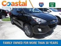 This 2015 Hyundai Tucson SE in features: FWD Clean