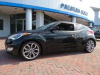 2015 Hyundai Veloster RE:FLEX FWD Black 6-Speed