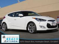 2015 Hyundai Veloster White 6-Speed EcoShift Dual