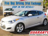 All the right toys!! This amazing 2015 Hyundai Veloster