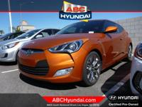 Hyundai Certified. Still has that new car smell. The