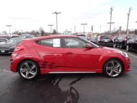 2015 Boston Red Metallic Hyundai Veloster Turbo