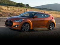2015 Hyundai Veloster Turbo Red 18 x 7.5J Alloy
