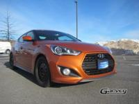 This Hyundai Veloster is equipped with standard