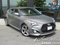 This Hyundai Veloster has a strong Intercooled Turbo