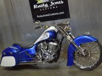(605) 385-0293 ext.2621 RUSTY JONES CUSTOM BIKE...
