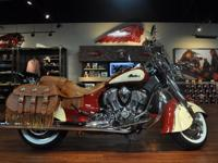Up for auction is a PERFECT condition 2015 Indian Chief