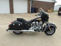 2015 Indian Chieftain. Bike is all stock with the