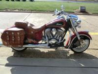 Year: 2015 Condition: New Indian Chief Vintage Two Tone