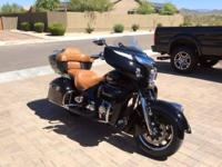2015 Indian RoadMaster in Thunder Black. Excellent
