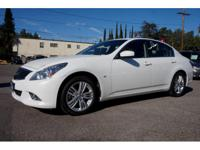Options:  2015 Infiniti Q40 Base! It Comes With Dual