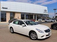 Options:  2015 Infiniti Q40 Base|White|6 Speakers|Am/Fm