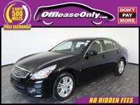 Ride In Style!! One Owner. This 2015 INFINITI Q40 All