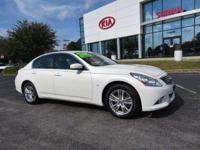 CARFAX One-Owner. Clean CARFAX. Moonlight White 2015 4D
