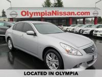 2015 Infiniti Q40 CARFAX One-Owner. ONE OWNER, CLEAN