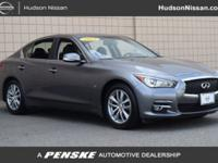PRE-CERTIFIED, Q50 Premium, 4D Sedan, AWD. Recent