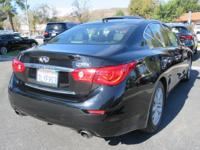 Options:  2015 Infiniti Q50 4Dr Sdn Rwd|Power Driver