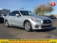 CARFAX One-Owner. Clean CARFAX. Silver 2015 INFINITI