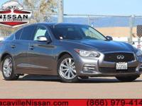 2015 Infiniti Q50. 4D Sedan, Artificial Leather, ABS