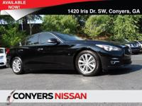 Check out this 2015 INFINITI Q50 Premium. Its Automatic