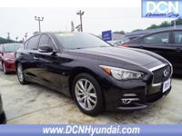 Clean CARFAX. 2015 INFINITI Q50 Premium AWD 7-Speed