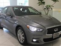 JUST ARRIVED!   AFFORDABLE LUXURY!  2015 INFINITI Q50
