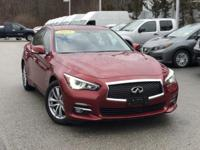 2015 INFINITI Q50 Premium Venetian Ruby Rear Back Up