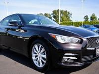 Step into the 2015 Infiniti Q50! An all capable and