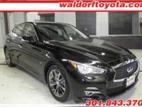 This is a One Owner, Immaculate 2015 Infiniti Q50