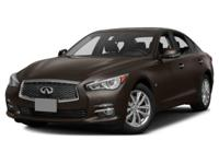 More is what you get!!!!! This beautiful 2015 INFINITI
