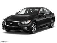 Get ready to go for a ride in this 2015 Infiniti Q50