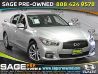 Step into the 2015 Infiniti Q50! Injecting