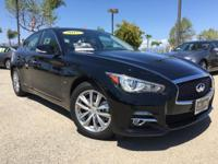 Options:  2015 Infiniti Q50 Premium|Black|Dealer