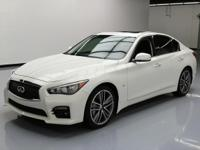 2015 Infiniti Q50 with 3.7L V6 Engine,Leather