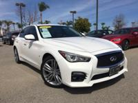 Options:  2015 Infiniti Q50 Sport|White|14