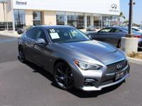 Options:  2015 Infiniti Q50 Sport|Gray|14