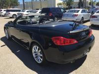Options:  2015 Infiniti Q60 Convertible|Black|Infiniti