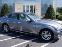 Infiniti Certified Certified, CARFAX 1-Owner, Superb